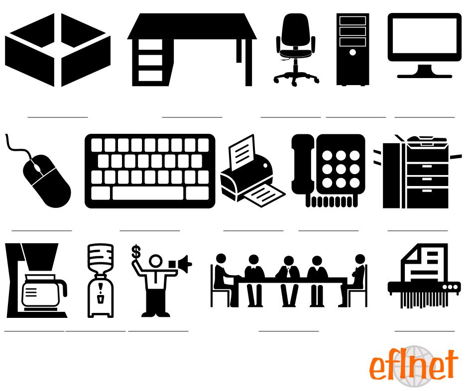 The Office - Vocabulary Worksheets   EFLnet